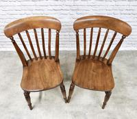 Pair of Windsor Lath Back Chairs (2 of 6)