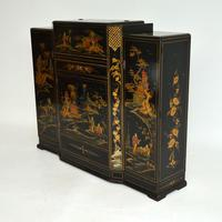 Art Deco Lacquered Chinoiserie Drinks Cabinet / Sideboard (8 of 16)