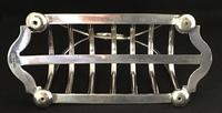 Art Nouveau  Silver Plated 7 Bar Toast Rack (3 of 4)