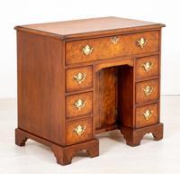 Georgian Style Walnut Kneehole Desk (8 of 10)
