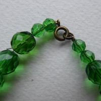 Green Foiled Glass Bead Necklace (6 of 7)