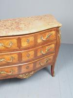 French Louis XV Style Marble Top Commode (9 of 13)