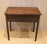 Early 19th Century Carved Oak Lowboy (11 of 11)