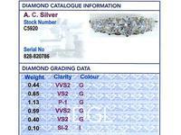 3.31ct Diamond & 18ct Yellow Gold Five Stone Ring c.1930 (6 of 9)
