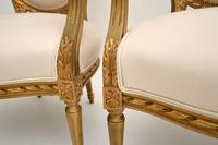 Pair of Antique French Giltwood Salon Chairs (11 of 11)