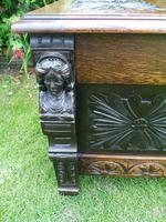 Country Oak Cottage Coffer 1860 (2 of 12)