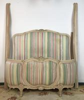 French Pair of Demi Lune Corbeille Single Bed Frames (10 of 11)