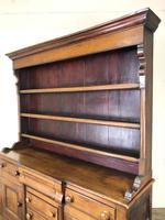 Antique 19th Century Oak Dresser (2 of 16)