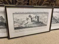 Set of 9 Framed Prints of Historic Castles & Abbeys (3 of 10)
