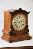 W&H Walnut Bracket / Mantel Clock (2 of 4)