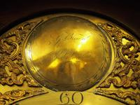 George III Inlaid Mahogany Grandfather Clock by G Brown, Edinburgh (3 of 12)