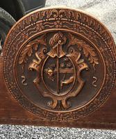 Important Pair Savonarola Walnut Chairs (2 of 7)