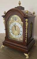 Antique Eight Day Large W&h 'ting-tang' Bracket Clock (2 of 8)