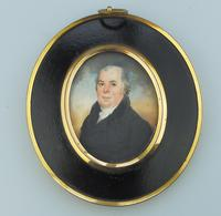 Attributed / After Frederick Buck - Irish Interest - Good Portrait Miniature Painting Early 19th Century (2 of 4)