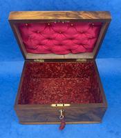 Walnut Jewellery Box c.1900 (13 of 14)