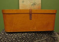 Antique Bentwood Plywood Storage Box by Luterma (10 of 16)
