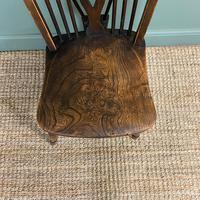 Six Country House Kitchen Elm Antique Windsor Chairs (2 of 6)