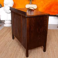 Oak Chest of Drawers Solid Wild Oak c.1920 (10 of 13)