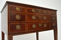 Antique Georgian Period Inlaid Mahogany Display Case Table (4 of 12)