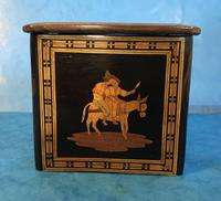 Victorian Italian  Sorento Ware Single Tea Caddy (13 of 16)
