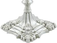 Sterling Silver Tapersticks - Antique George III 1769 (5 of 12)