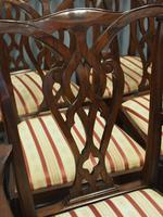 Set of 12 Georgian Style Mahogany Dining Chairs (9 of 12)