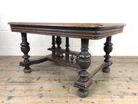 Early 20th Century Antique Oak Coffee Table (3 of 12)
