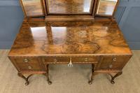 Substantial Burr Walnut Dressing Table (6 of 18)