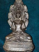 18th / 19th Cambodian Bronze Mucalinda Buddha (6 of 13)