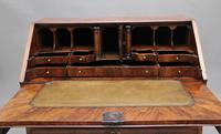 18th Century Walnut & Leather Banded Bureau (2 of 17)