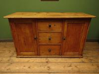 Victorian Rustic Antique Pine Sideboard Kitchen Unit (2 of 22)