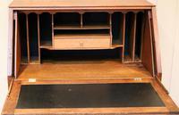 Arts and Crafts Oak Bureau (9 of 11)