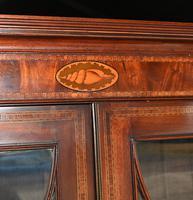 George III Bureau Bookcase Antique 1790 Desk (5 of 14)
