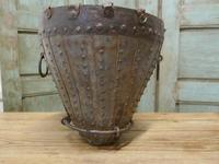 19th Century Brutalist North African Water Bucket (3 of 6)