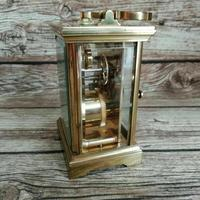 Rare St James London Solid Brass 11 Jewel Carriage Clock (5 of 5)