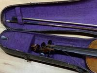 Violin & Case with Bow Victorian (5 of 12)