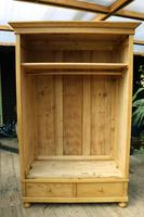 Quality! Large Old Pine Double 'Knock Down' Wardrobe - We Deliver! (16 of 17)