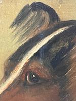 Pair of Scottish 19th Century Oil Paintings Rough Collie Dog Portraits After George Washington Brownlow (27 of 49)