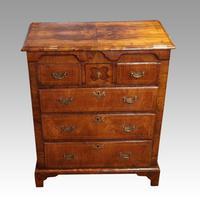 George III Walnut Norfolk chest (9 of 13)