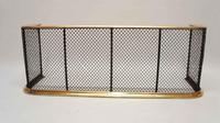Early Victorian Brass & Wire Fire Guard / Fender (2 of 7)