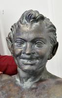 Bust of a Young Satyr in a Bronze Patina (7 of 7)