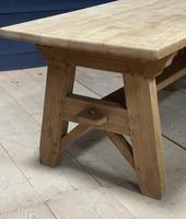 Scandinavian Style Bleached Oak Farmhouse Table (8 of 14)
