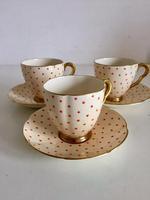 Beautiful Fine China Carlton Ware Polka Dot Coffee Set 1920's (15 of 25)