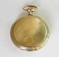 Antique Gold Plated Pocket Watch (5 of 5)