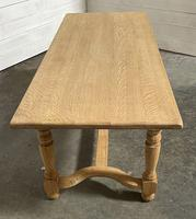 Nice Bleached Oak Farmhouse Dining Table (7 of 19)