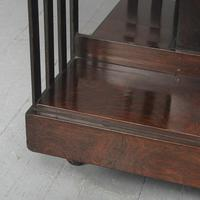 Victorian Rosewood Revolving Bookcase (7 of 8)