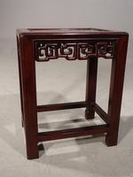 Good Late 19th Century Hardwood Oriental Low Table (5 of 5)
