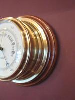 Antique London Bulkhead Marine Barometer (6 of 7)
