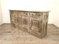 Pitch Pine Sideboard with Four Cupboards (9 of 10)