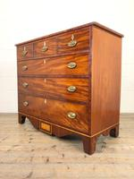 Wide Antique Mahogany Chest of Drawers (7 of 12)